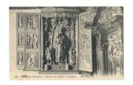 Berven - Intérieur De L'église - Triptyque - 100 - France