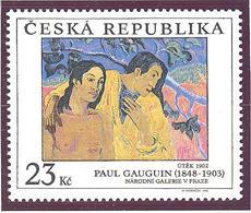 Tchequie: Yvert N° 186**; MNH; Tableau De Gauguin - Tchéquie