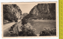 SERBIA - ROMANIA EISERNES TOR / Grosser Kazan, Verlag: Donau Dampfschiffahrts-Ges FP NV  SEE 2 SCANS Boat - Serbia