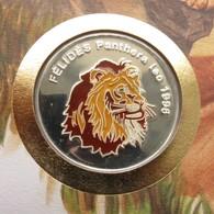 Congo 500 Fr 1996 Lion Sahara Envelope - Congo (Democratic Republic 1998)