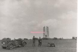 WW2 PHOTO ORIGINALE Soldats Allemands LW MEMORIAL CANADIEN CANADA à VIMY Près Liévin Lens PAS DE CALAIS 62 - 1939-45