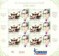 Costa Rica - 2008 - Yt 856 En PF - Personnalité - Dr. Fernando Centeno Güell - ** - Costa Rica