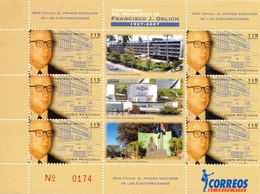 Costa Rica - 2007 - Yt 822 En PF - Personnalité - Francisco J. Orlich - ** - Costa Rica