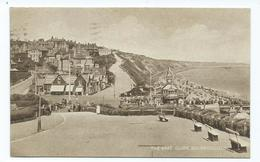 DORSET POSTCARD 1930S Bournemouth East Cliff . Posted 1928 Well Animated - Bournemouth (from 1972)