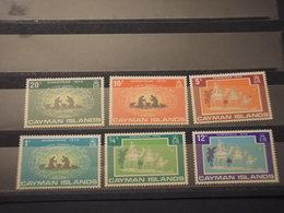 CAYMAN - 1970 NATALE RE MAGI  6 VALORI - NUOVI(++) - Cayman (Isole)
