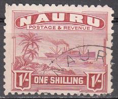 NAURU   SCOTT NO. 27A    USED    YEAR  1924 - Nauru