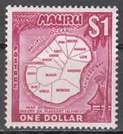 NAURU   SCOTT NO. 71    MNH   YEAR  1966 - Nauru