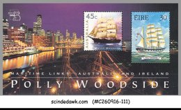 AUSTRALIA - 1999 POLLY WOOD SIDE / SHIP - MINIATURE SHEET MNH - 1990-99 Elizabeth II