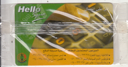 SYRIA - Distributors, Hello Syria By S.T.E. Prepaid Card 200 SP, Mint - Syria