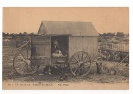 Cp EN BEAUCE Cabane De Berger - Francia