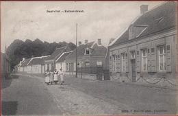 Zandvliet Santvliet Keizerstraat Hoelen Cappellen 3970 (ZELDZAAM) Polder Poldergemeente 1911 (In Zeer Goede Staat) - Stabroek