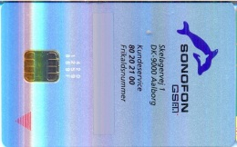 DENMARK GSM Card : DEN01 19 GSM SONOFON Dolphin MINT / FULL ISO - Denmark
