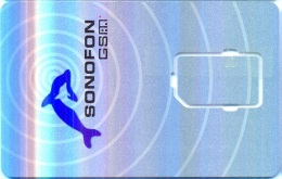 DENMARK GSM Card : DEN03 34 PIC SONOFON Dolphin USED - Denmark