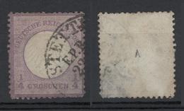 1872 - 1/4 Groschen Violetto (scudo Acquila Piccolo) Vedere Foto - Germania