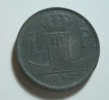 Belgium 1 Franc 1942 - 1934-1945: Leopold III