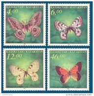 Kazakhstan 1996 Mih. 139/42 Fauna. Butterflies MNH ** - Kazachstan