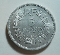 France 5 Francs 1946 - J. 5 Francs