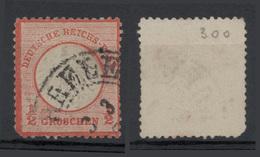 1872 - 1/2 G Rosso/arancio (scudo Aquila Piccolo) Vedere Foto - Germania