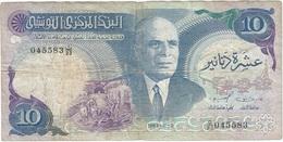 Túnez - Tunisia 10 Dinars 03-11-1983 Pick 80 Ref 1659 - Tunisia