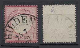 1872 - 1 G Rosa-carminio (scudo Aquila Piccolo) Vedere Foto - Germania