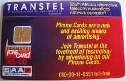 South Africa - SAF-TR-07, Proof Kruger Set (Phone Num. 08-00), Transtel Trial R5, 1000ex, Mint - Zuid-Afrika