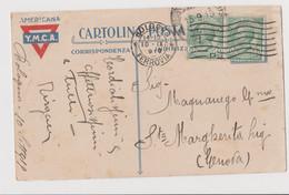 Postcard Y.M.C.A. 1917-1918, Bowling Green New York, USA - F.p.. - Anni '1917-1918   I°WW - Stati Uniti