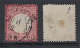 1872 - 3K Rosa Carminio (scudo Aquila Piccolo) Vedere Foto - Germania