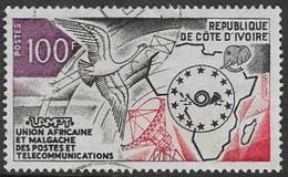 Ivory Coast SG416 1973 UAMPT 100f Good/fine Used [37/30691/1D] - Ivory Coast (1960-...)