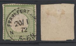 1872 - 1K Verde Su Frammento (scudo Aquila Piccolo) Vedere Foto - Germania