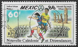 New Caledonia SG786 1986 World Cup Football Championship 60f Good/fine Used [37/30696/7D] - Oblitérés