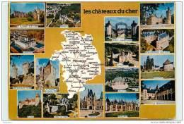 18-CHATEAUX DU CHER-N°039-D/0214 - Non Classés