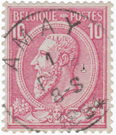 COB N° 46 - AMAY - 1884-1891 Leopold II.