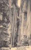 ALPES DE HAUTE PROVENCE  04  ANNOT   DANS LES GRES D'ANNOT - LA CHAMBRE DU ROI - France