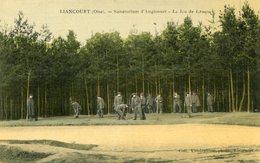 LIANCOURT(CARTE EN COULEUR TOILEE) JEU DE CROQUET - Liancourt