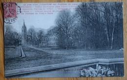 94 : Vitry-sur-seine - Château De Vitry - La Place Centrale Du Lotissement Et Son Bassin - (n°12665) - Vitry Sur Seine