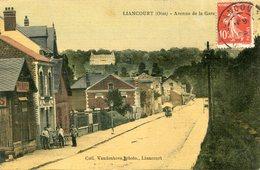 LIANCOURT(CARTE EN COULEUR TOILEE) - Liancourt