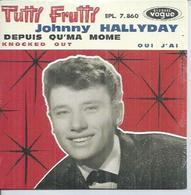 "CD  4 TITRES - JOHNNY HALLYDAY -   "" TUTTI FRUTTI "" +  3 - Music & Instruments"