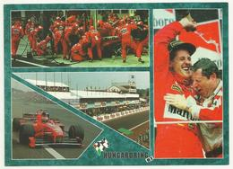 Michael Schumacher Ferrari Hungaroring F1 , Big Postcard - Grand Prix / F1