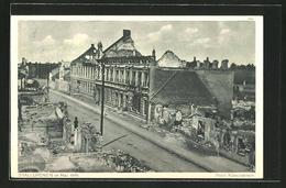 CPA Stallupönen, Maisons En Ruineszeile Im Mai 1915 - Ostpreussen