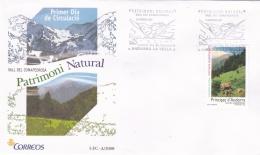 Spanish Andorra FDC 2008 Patrioni Natural (G87-26) - Andorre Espagnol