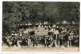 CPA 18 CHATEAUNEUF SUR CHER Pélerinage - Procession 1917 - Frankreich