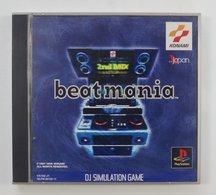 PS1 Japanese : Beatmania SLPM-86126~7 - Sony PlayStation