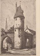 18 / 5 / 149  - MULHOUSE  ( 68 ) CPA  DESSIN   DU  BOLLWERK - Mulhouse