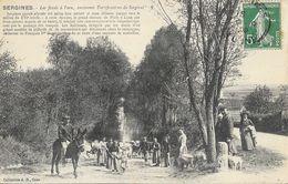 Sergines (Yonne) - Les Fossés à L'eau, Anciennes Fortifications De Sergines - Collection J.D. - Sergines