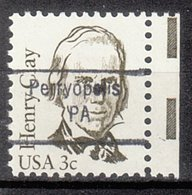 USA Precancel Vorausentwertung Preo, Locals Pennsylvania, Perryopolis 843 - Vereinigte Staaten