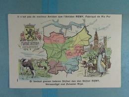 Amidon Remy Flandre Orientale - Cartes Géographiques