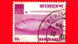 BANGLADESH - Usato - 1973 - Animali ( Fauna ) - Pesci - Hilsa - Ilish Fish (Tenualosa Ilisha) - 50 - Bangladesh