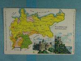Amidon Remy Allemagne Duitschland - Cartes Géographiques