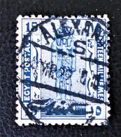 PROTECTORAT BRITANNIQUE - STATUE DE RAMSES II 1922 - BELLE OBLITERATION - YT 64 - 1915-1921 Protectorat Britannique