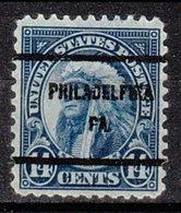 USA Precancel Vorausentwertung Preo, Bureau Pennsylvania, Philadelphia 695-61 - Vereinigte Staaten